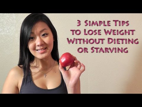how to lose weight fast without dieting  3 simple tips
