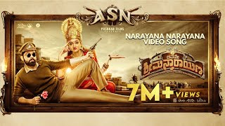 Avane Srimannarayana (Kannada) - Narayana Narayana | Rakshit Shetty | Pushkar Films | Charan Raj