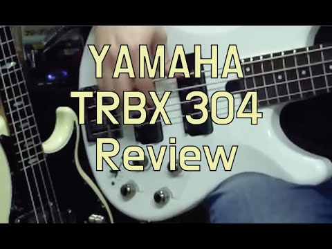 Yamaha TRBX304 Electric Bass Guitar (Candy Apple Red)