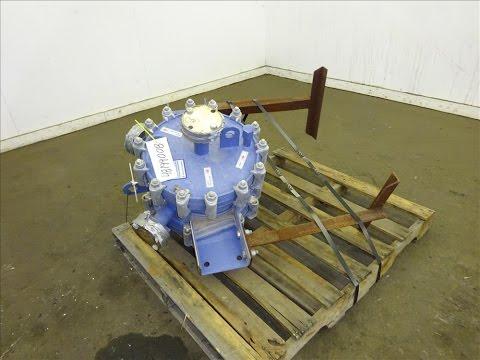 Used- Alfa Laval Horizontal Spiral Heat Exchanger, Model 1-H - stock # 48199008