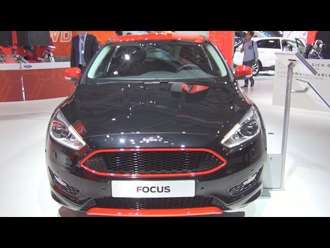 Ford Focus Sport (2016) Exterior and Interior in 3D