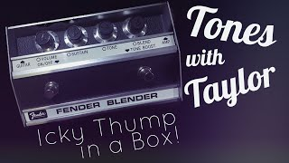 Fender Blender Reissue Fuzz Pedal Demo | Tones with Taylor