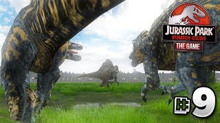 GIANT DINOSAURS DO BATTLE! - Jurassic Park Operation Genesis | Ep9