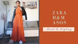 ZARA, ASOS, H&M SS2019 | Haul & Styling | #springfashion2019 #asos #zara #hm