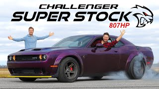 2020 Dodge Challenger SRT Super Stock Review // Meet The New Demon