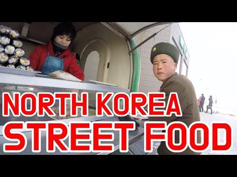 Pyongyang Street Food - North Korea