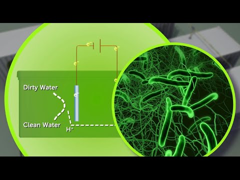 """Electromethanogenesis"": Energy from wastewater"