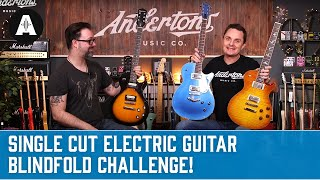 Captain Lee's Single Cut Guitar Blindfold Challenge!