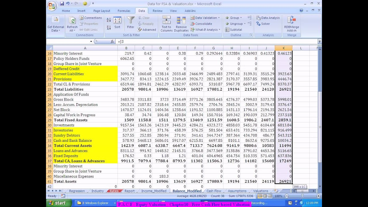 Financial modeling forex