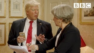 President Trump says British PM Theresa May is not hot - Tracey Breaks the News - BBC