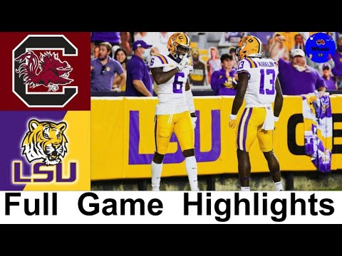 South Carolina vs LSU Highlights | College Football Week 8 | 2020 College Football Highlights