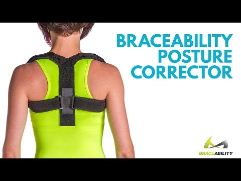 The Best Posture Corrector Brace | How to Improve Poor Posture, Stop Slouching & Fix Bad Back Pain