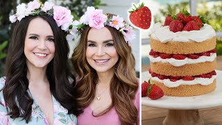 How To Make A Summer Solstice Cake w/ My Sister!