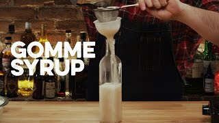How to Drink: Gomme Syrup