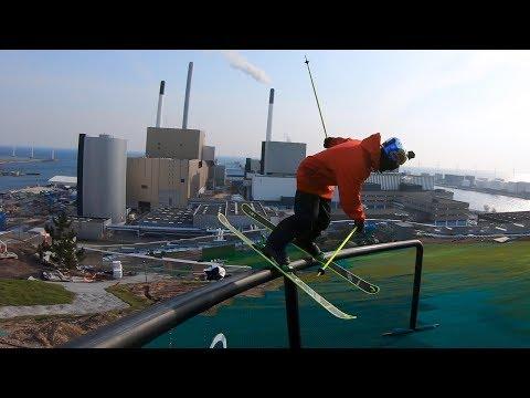 GoPro: Jesper Tjäder - CopenHill - Skiing On Top a Building