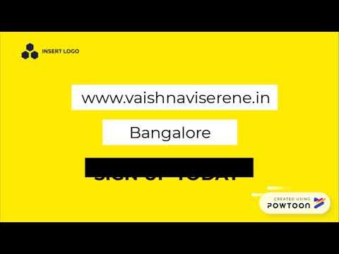 Vaishnavi Serene Yelahanka North Bangalore