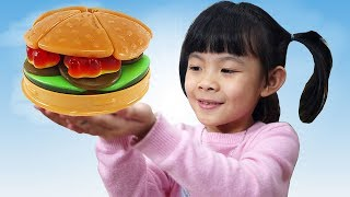Trò Chơi Cửa Hàng Bán Bánh Gummy Hamburger ❤ AnAn ToysReview TV ❤