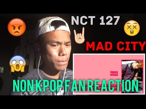 NON KPOP FAN REACTION TO NCT 127- MAD CITY LYRIC VIDEO