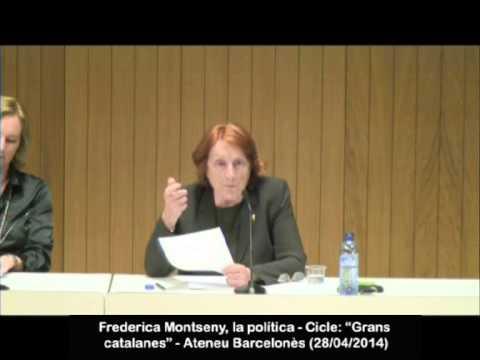 Frederica Montseny, la política. Presentació a càrrec de M. Àngels Cabré