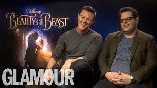 Luke Evans & Josh Gad Talk Bromance, Emma Watson Being the Perfect Role Model | Glamour UK
