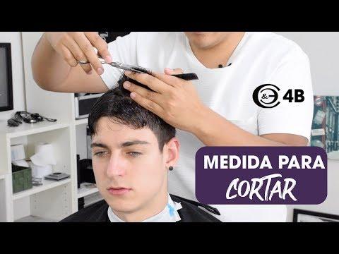 Corte de cabello escolar con tijera