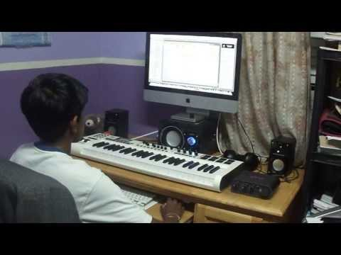 Subhash Ramesh Music Composition Session - Subhash Recording Session 1