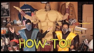 How to Make Mortal Kombat Costumes! - Homemade How-to!