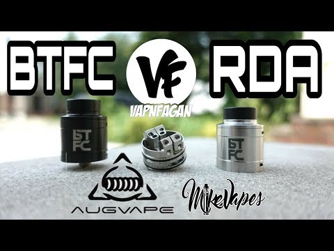 video Augvape X Vapnfagn Btfc 25mm Bf Rda