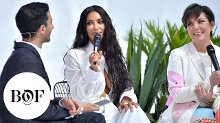 Creating Cultural Moments | Kim Kardashian West & Kris Jenner | #BoFWest