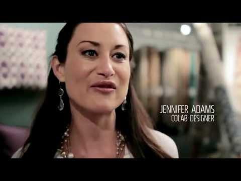Jennifier Adams with Jaipur Rugs