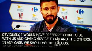 World Cup 2018 - Olivier Giroud on French Soccer Legend Thierry Henry coaching Belgium National Team