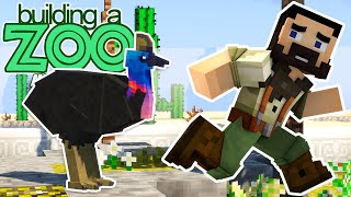 I'm Building A Zoo In Minecraft Again! - First Animal Bred, Sold And First Zoo Visit! - EP05