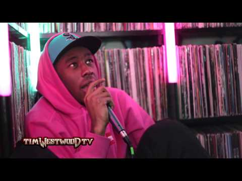 Tyler The Creator taking heroin & Meth & wild boar in the studio! - Westwood Crib Session