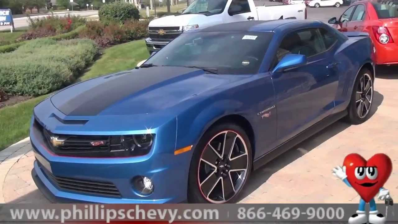 Phillips Chevy Frankfort >> Phillips Chevrolet - 2013 Chevy Camaro Hot Wheels Edition ...