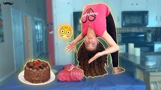 BAKING A CAKE UPSIDE DOWN **INTENSE**