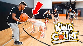 King Of The Court Basketball vs AMP! Ankles Hit The Floor!