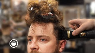 First Haircut in 9 Months Transformation   The Dapper Den