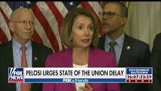 'You Liar!': Chaffetz Slams Nancy Pelosi's Call for State of the Union Delay