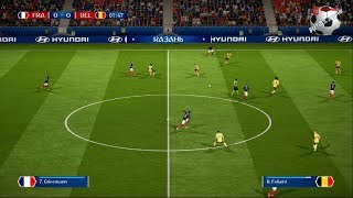 France V Belgium- 2018 FIFA World Cup Russia™ - Match 61 Gameplay