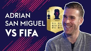 Adrian thinks the BEST Goalkeeper in the World is...  | Adrian vs FIFA 🔥🔥🔥