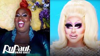 The Pit Stop S13 E2 | Trixie Mattel & Latrice Royale Kiki | RuPaul's Drag Race