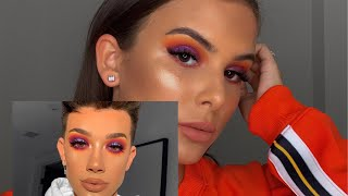 I TRIED FOLLOWING A JAMES CHARLES LOOK..