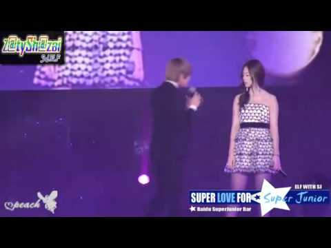 [HD] Heechul & Sulli - sweet perf during SS3