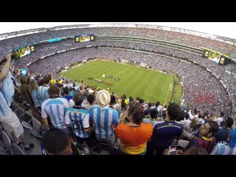 [2016.06.26] Copa America Centenario Final Argentina vs Chile National anthem + penalty shootout