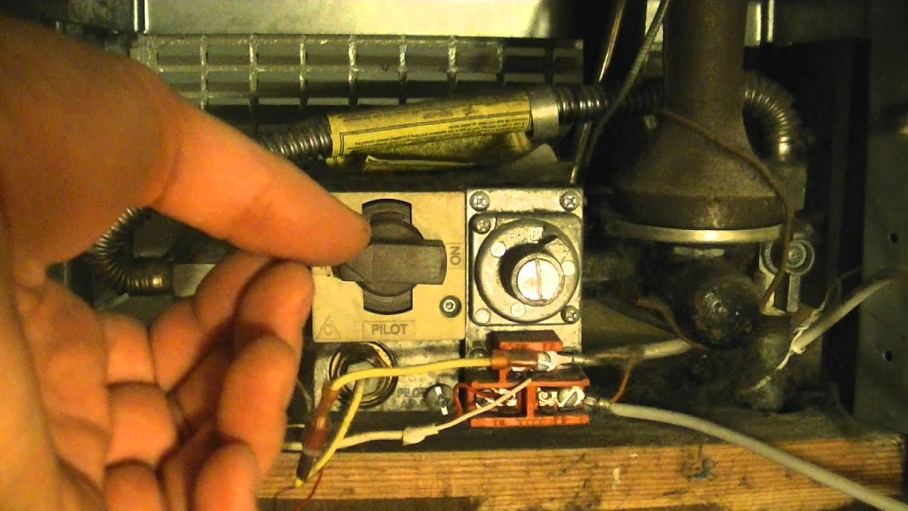 How To Light The Pilot Light On A Gas Heater Youtube