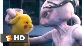 Pokémon Detective Pikachu (2019) - Defeating Mewtwo Scene (9/10) | Movieclips