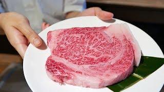 $200 PRIME KOBE BEEF JAPANESE TEPPANYAKI Sirloin Steak Japan