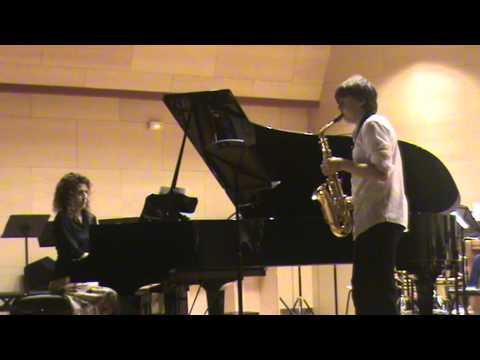 Sonata nº4 Bach. Saxofón. Jorge. Conservatorio de Segovia.