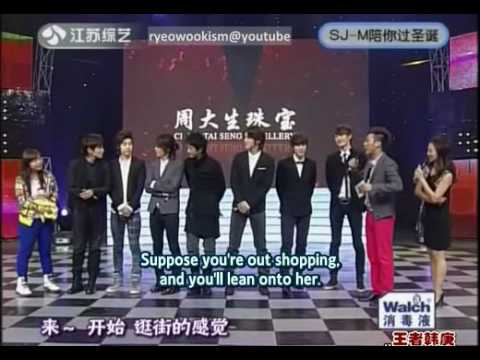 [eng sub] Ryeowook likes taller girls?