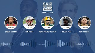 UNDISPUTED Audio Podcast (04.12.19) with Skip Bayless, Shannon Sharpe & Jenny Taft | UNDISPUTED